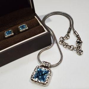 BrightonTopaz Necklace/Earrings Set